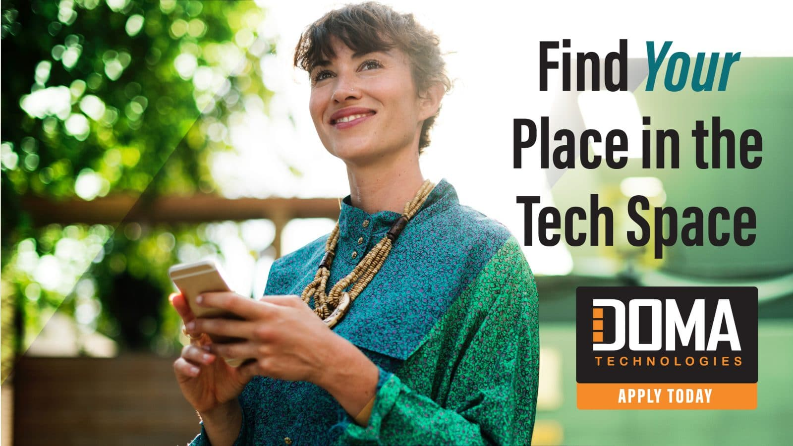 Find your place in the Tech Space with DOMA Careers
