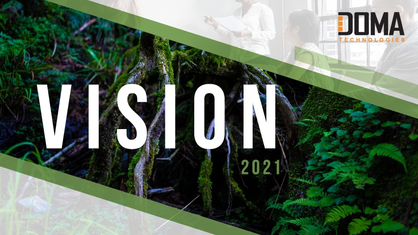 DOMA Vision 2021 Launch Graphic