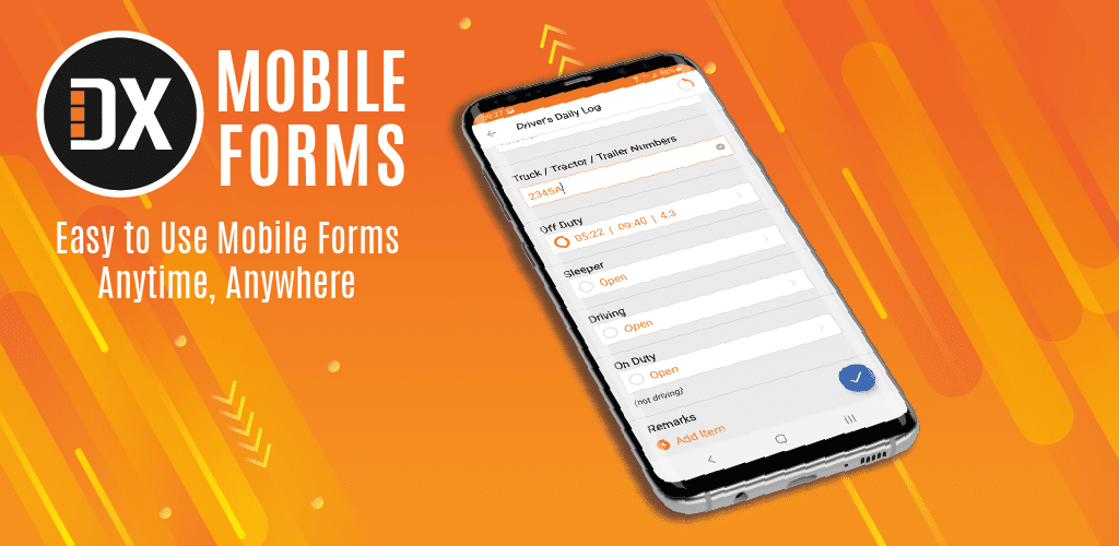 DX Mobile Forms: Easy to Use Mobile Forms Anytime, Anywhere