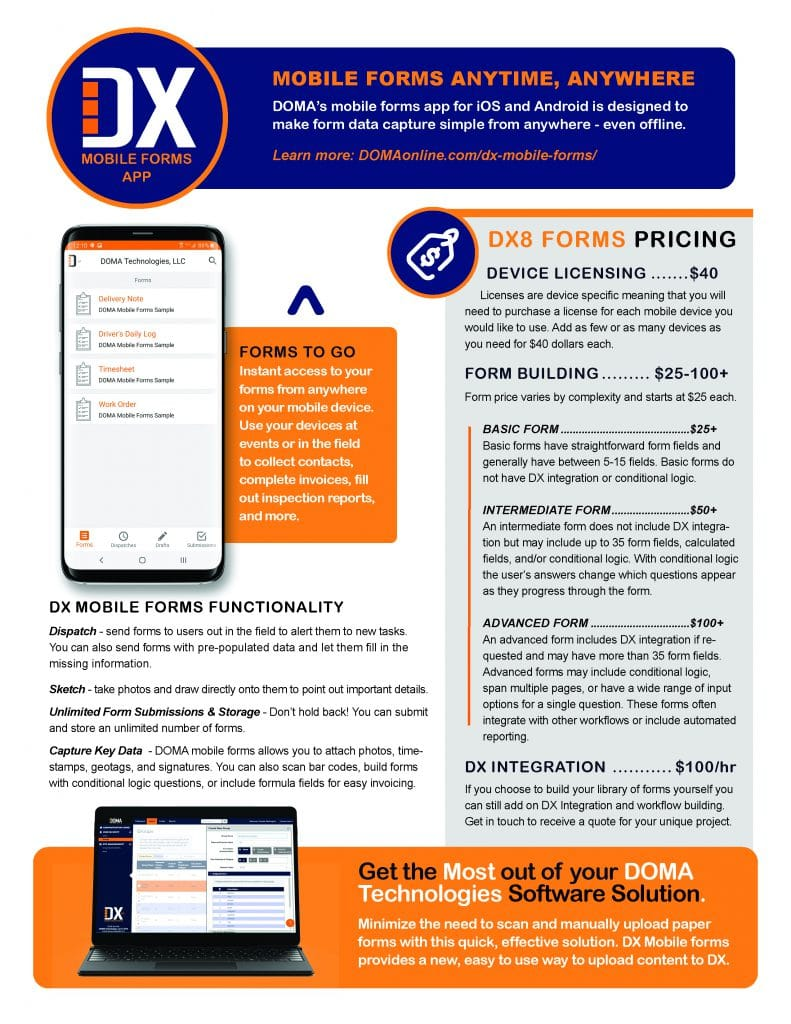 DX Mobile Forms Page 2